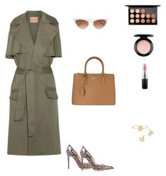 """""""Untitled #49"""" by cristinestyle on Polyvore featuring Maggie Marilyn, Gianvito Rossi, Prada, AND, Zoë Chicco, Sunday Somewhere and MAC Cosmetics"""