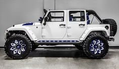 Jeep Wrangler Unlimited Sport by Voltron Motors Jeep Wrangler Sport Unlimited, Jeep Wrangler Rubicon, Jeep Wrangler Blanco, White Jeep Wrangler, Jeep Unlimited, Jeep Willis, Jeep Carros, Jeep Pickup Truck, Ford Trucks