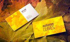 Free Autumn Leaves Business Card Mock-up Hi friends! I bring you a special business card mock-up. It is perfect to showcase your business card design in a cas Professional Business Card Design, Business Card Mock Up, Business Design, Mockup Templates, Joomla Templates, Freelance Graphic Design, Logo Nasa, Autumn Leaves, Free Design