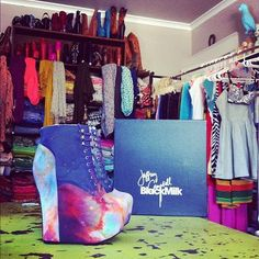 Jeffrey Campbell + Black Milk Clothing collab