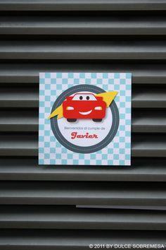 DULCESOBREMESA: Fiesta Cars de Javier (I) / Javier´s Cars Theme Party (I)