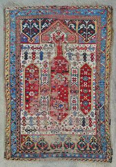 West Anatolian prayer rug. Exhibitor Mete Mutlu