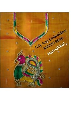Embroidery Blouses, Aari Embroidery, Washer Necklace, Pendant Necklace, Jewelry, Fashion, Jewellery Making, Moda, Jewerly