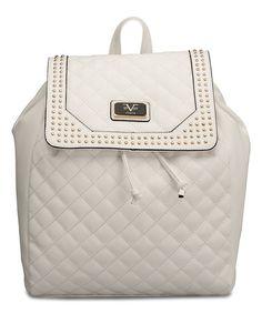V1969 Italia Versace 19.69 Abbigliamento Sportivo SRL White Medusa Backpack b15ba3f7ef7a6