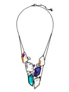 Swarovski Jewelry Rocket Bib Necklace