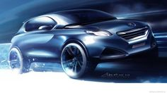 Peugeot Urban crossover sketch