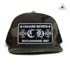 8c8d125410c Chrome Hearts Hollywood Patch Mesh Trucker Cap - Black/Black. See more. CH  TRUCKER CAP - CAMOBLACK