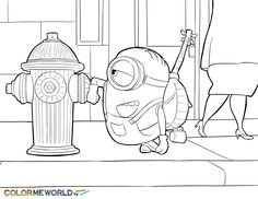 Scarlet Overkill PDF Printable Coloring Page - Minions ...