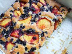 Twoje&Moje: Słoneczne ciasto z owocami. Superszybkie ciasto ucierane. How To Make Cake, Vegetable Pizza, Food And Drink, Pie, Cooking Recipes, Yummy Food, Cookies, Vegetables, Kuchen