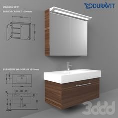 Duravit Furniture Washbasin 1050