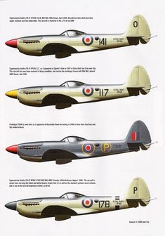 Supermarine Seafires, ca. Navy Aircraft, Ww2 Aircraft, Fighter Aircraft, Military Aircraft, Spitfire Airplane, Royal Australian Air Force, Scale Models, The Spitfires, British Armed Forces