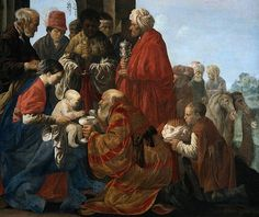 Fichier:Hendrik ter Brugghen - De aanbidding der koningen.jpg The Adoration of the Magi, 1619