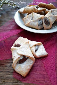 Biscotti ripieni di nutella (senza glutine )