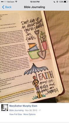 MS woman's journaling Bible illustrations goes viral - FOX Carolina 21 Bible Study Journal, Scripture Study, Bible Art, Art Journaling, Scripture Journal, Journal Art, Bible Drawing, Bible Doodling, Bible Prayers