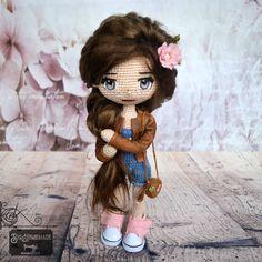 🌸knottellaa academy 🌸 Crochet Doll 🌸 Crocheting, Knit Crochet, Teddy Bear, Homemade, Dolls, Knitting, Projects, Instagram, Amigurumi
