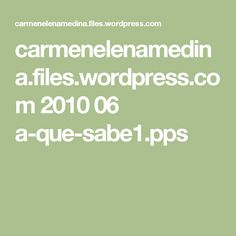 carmenelenamedina.files.wordpress.com 2010 06 a-que-sabe1.pps
