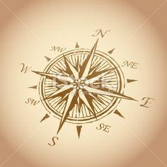 ancient compass images - tattoo idea