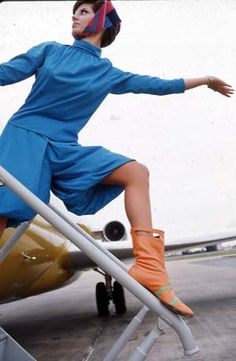 Braniff Stewardess 1960's (Pucci)