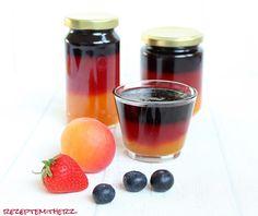 Rezepte mit Herz ♥: EM / WM - Marmelde ♡ schwarz - rot - gold ♡ Deutschland - Marmelade