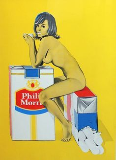 Philips Morris ~ Mel Ramos