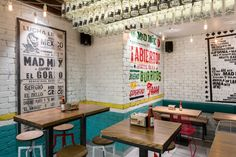 Mad Mex grill restaurant by McCartney Design, Sydney Australia fast food