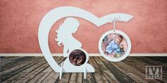 Sonogram Ultrasound Photo Frame from Wood Handmade with Two Pictures | Home, Furniture & DIY, Home Decor, Photo & Picture Frames | eBay!