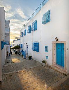 Sidi Bou Said, Tunis, Tunisia.