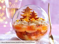 Recette Trifle de Noël aux clémentines et pain d'épices. Ingrédients (4 personnes) : 500 g de clémentines, 10 tranches de pain d'épices, 4 cuil. à soupe de confiture d'orange... - Découvrez toutes nos idées de repas et recettes sur Cuisine Actuelle