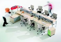 open office workstations group
