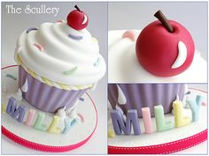 Giant Cupcake by The Scullery (Louise), via Flickr