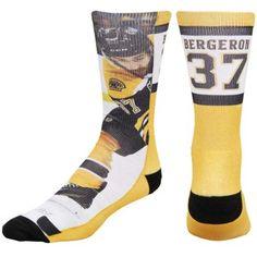 1b60ac09167 Mens Boston Bruins Patrice Bergeron Player Promo Tri-Blend Tube Socks.  Boston Bruins Players, Nhl ...