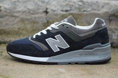 """ニューバランス M997 """"ネイビー/グレー"""" (M997NV) - New Balance M997 """"Navy/Grey"""""""