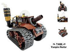 #LEGO #Steampunk Tank