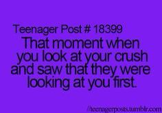 Omg yes i love this feeling it makes me get butterflies even when i walk past himmm