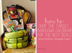 Tips & Tricks for scoring Target clearance deals (Target's markdown calendar, Target's Toy Sale & Target's Holiday Clearance)