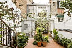 a f a s i a: Jordi Adell | reforma de casa patio en Saints | Barcelona