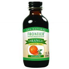 Frontier Herb Orange Flavor - 2 Oz