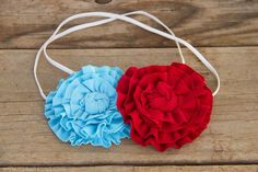 The Ruffled Flower.....for headbands, clothing, totes, etc.  --- Make It and Love It