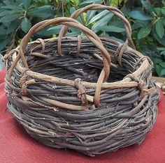 Vintage Grapevine Basket Rustic/ Native / by WhiteWolfeNativeArts, $10.00