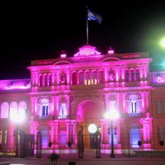 La Casa Rosada de noche - Buenos Aires, Argentina