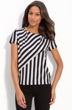 Kenneth Cole New York Stripe Top