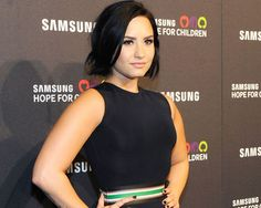 Demi Lovato is rocking the edgy chin-length blunt bob -- even shorter and more bold than the curly bob. http://thestir.cafemom.com/beauty_style/190572/the_imperfect_celebrity_hair_trendt