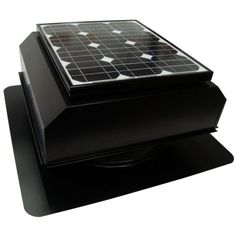 http://how-to-make-a-solar-panel.us/solar-fan.html Solar powered attic fan reviewed. Solar Powered House Fan: AB-202A