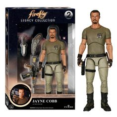 Funko Firefly Legacy Collection Jayne Cobb Action Figure - Radar Toys