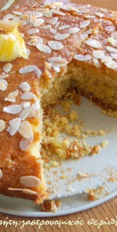 Greek Sweets, Greek Recipes, Banana Bread, Crockpot, French Toast, Deserts, Dinner Recipes, Food And Drink, Pie