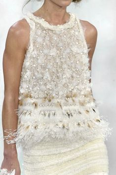pearlsembellished #Chanel Fall 2010