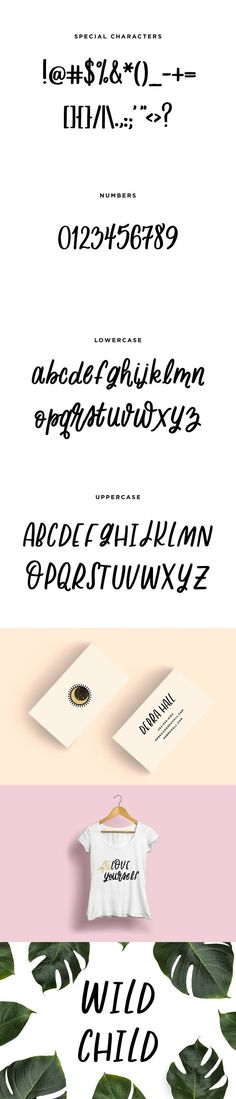 Wild Child - Fun Handwritten Font. Fun Fonts
