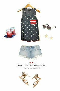 America the beautiful outfit
