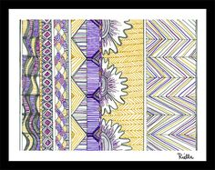"""Greeting Art Card w/envelope, """"Weave & Grow,"""" by Rielle 5 1/2"""" x 4 1/4"""" on Etsy, $4.99"""