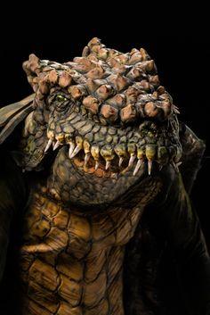 George's alligator/armadillo hybrid. Photo credit: Brett-Patrick Jenkins. from Face Off S7E5: Animal Attraction